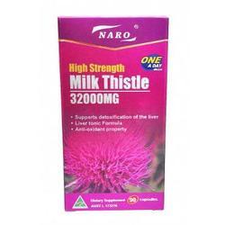 High Strength Milk Thistle 32000mg 90 Viên -  Bổ Gan, Giải Độc Gan