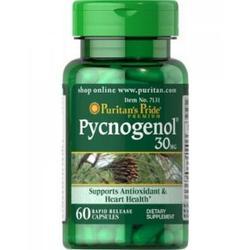 Puritan's Pride Pycnogenol 30 mg 60 Viên - hỗ trợ chống oxy hóa