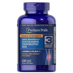 Viên Uống Bổ Khớp Glucosamine Chondroitin MSM Puritan's Pride 120 Viên
