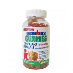Kẹo Nhai Bổ Sung Omega 3 - Iron kids Gummies Omega 3 200 Viên