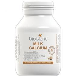 Sữa Viên Cho Trẻ Bio Island Milk Calcium 90 Viên