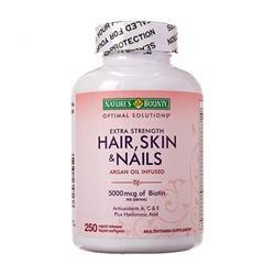Viên Uống Đẹp Da Tóc Và Móng Nature's Bounty Hair Skin & Nail 250 Viên