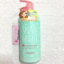 Sữa Tắm Cathy Doll Snail Bright Snail Body Bath 750ml
