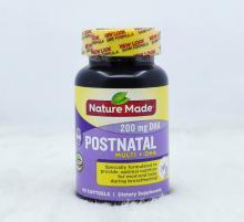 Thuốc bổ Sau Sinh Nature Made Postnatal Multi DHA 200mg 60 Viên