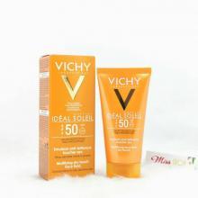 Kem Chống Nắng Không Gây Nhờn Rít Vichy Idéal Soleil SPF50 50ml