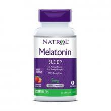 Viên Ngủ Natrol Melatonin Sleep 5mg 250V