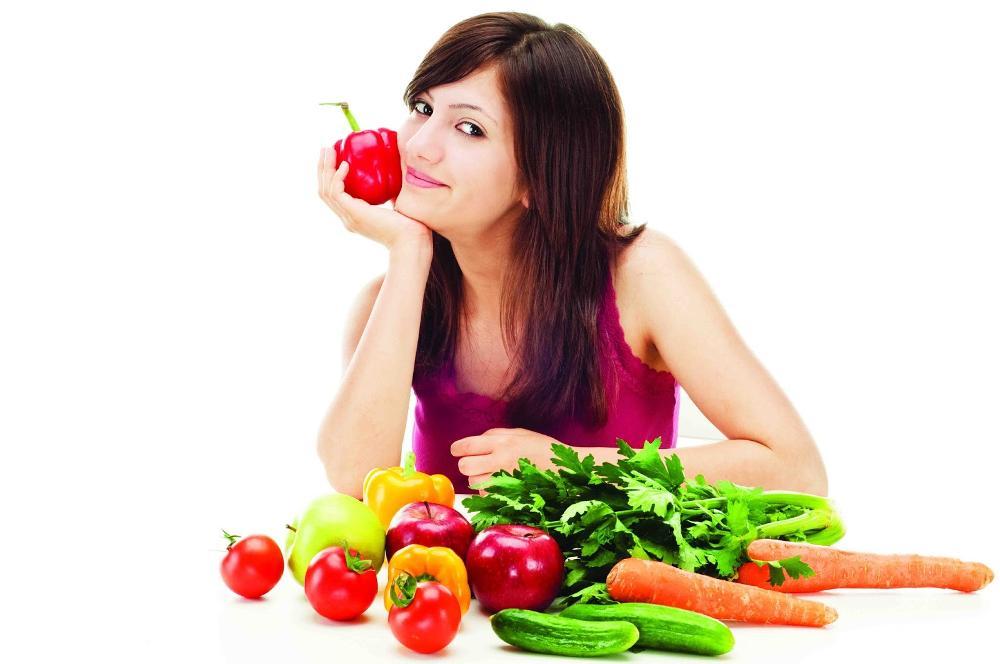 Ăn rau và trái cây