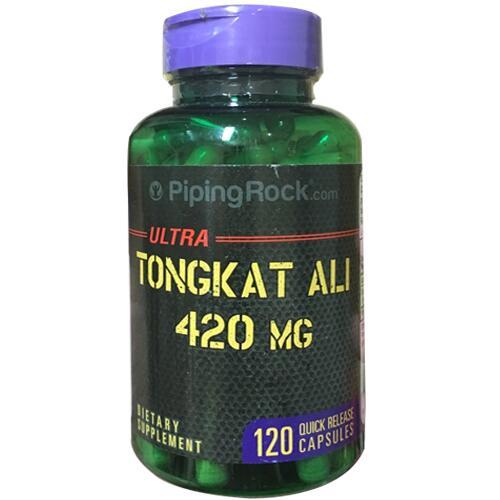 Tongkat Ali Piping Rock Ultra 420mg Hộp 120 Viên - Tăng Cường Sinh lý Nam