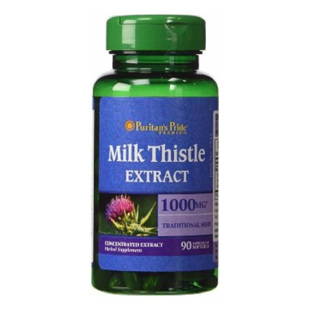 Thuốc bổ gan Milk Thistle Extract 90 viên