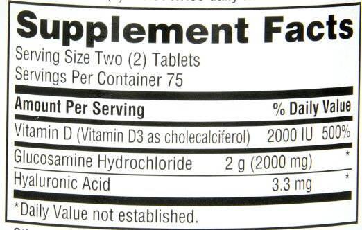 Viên uống bổ xương khớp Schiff Glucosamine 2000mg