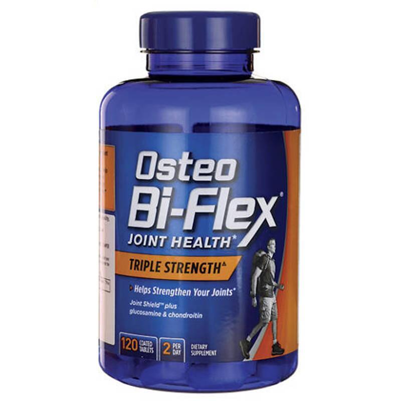 Osteo Bi-Flex Triple Strength 120 viên - Thuốc chữa khớp của Mỹ