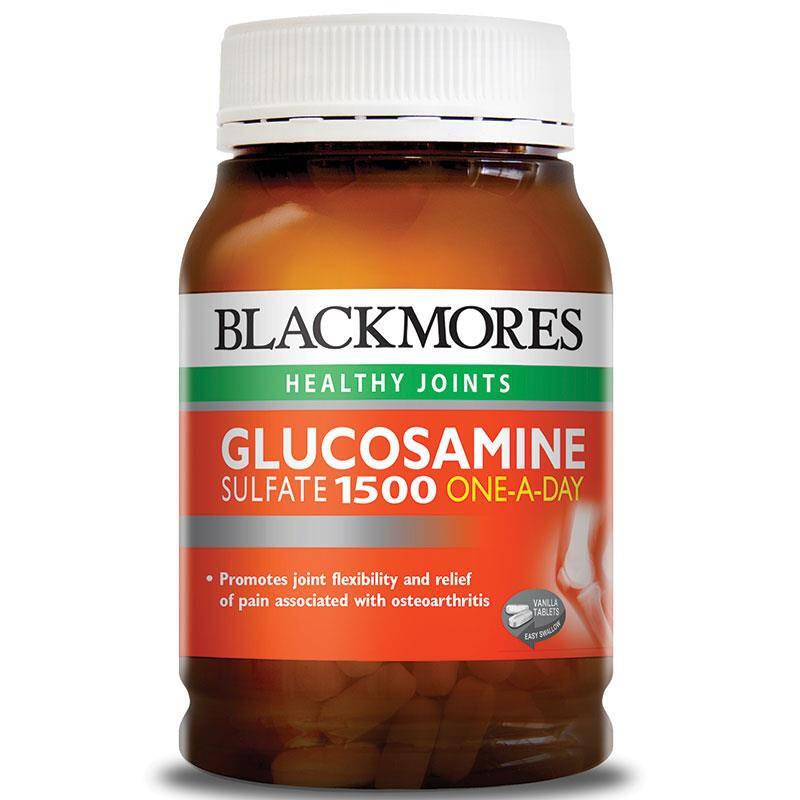 Blackmores Glucosamine 1500 One-A-Day 180 Viên