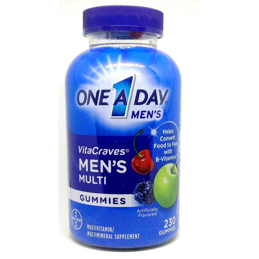 Kẹo Dẻo Vitamin One A Day Men's Vitacraves Gummies 230 Viên