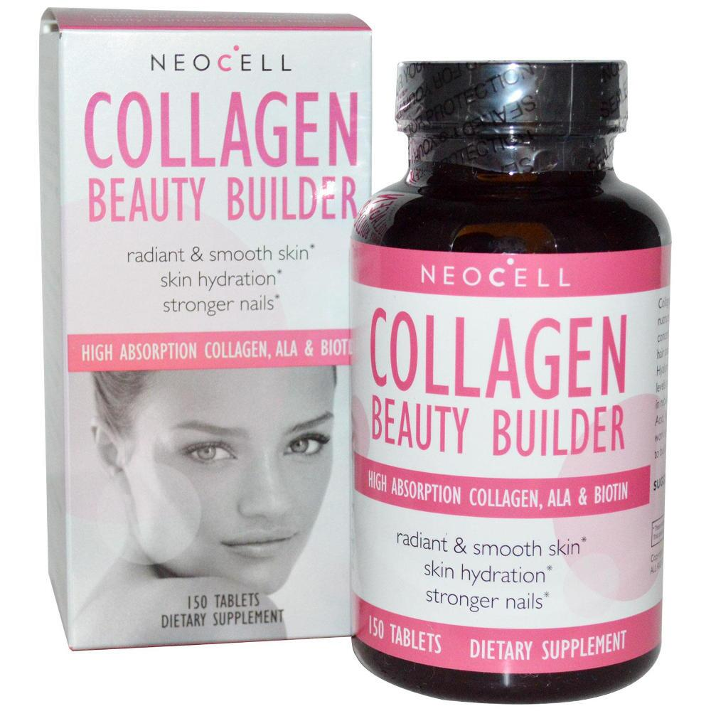 Viên Uống bổ Sung Collagen - Neocell Collagen Beauty Builder 150 Viên