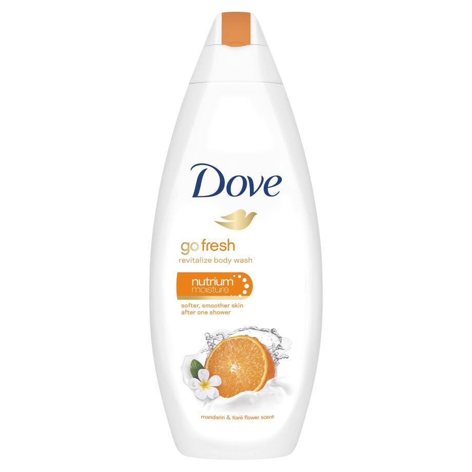 Sữa tắm dưỡng thể Dove Go Fresh revitalize body wash 500ml