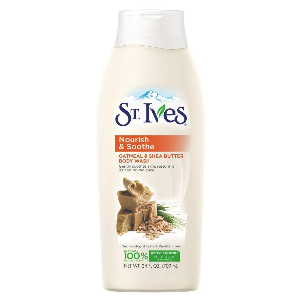 Sữa Tắm St.Ives Nourish & Soothe Oatmeal & Shea Butter 709ml