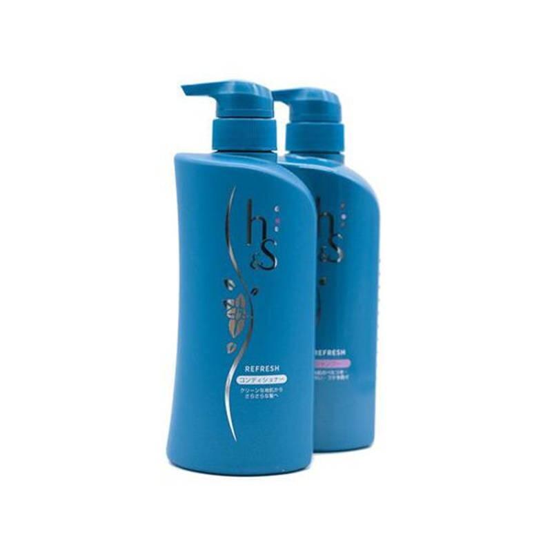 bộ dầu gội và dầu xả trị gàu và dưỡng tóc HS – Head Spa Refresh