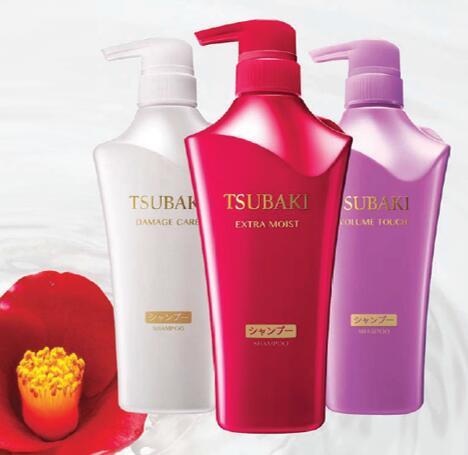 Bộ Đôi Dầu gội Và Dầu Xả Shiseido Tsubaki 500ML