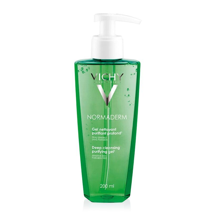 Gel rửa mặt ngăn ngừa mụn Vichy Normaderm Deep Cleansing Purifying Gel