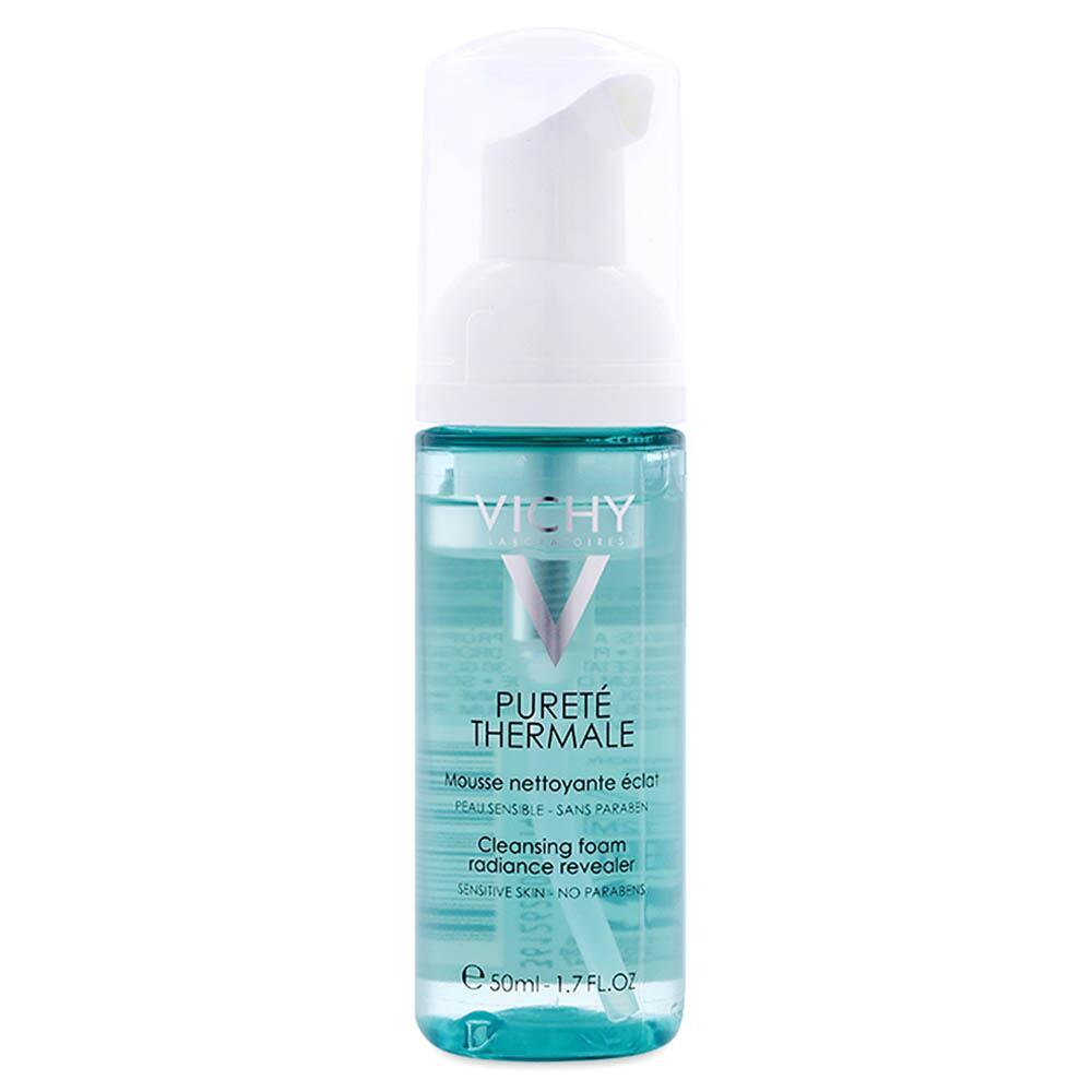 Sữa rửa mặt tạo bọt dạng mút Vichy Purete Thermale Cleansing Foam Radiance Revealer 50ml.