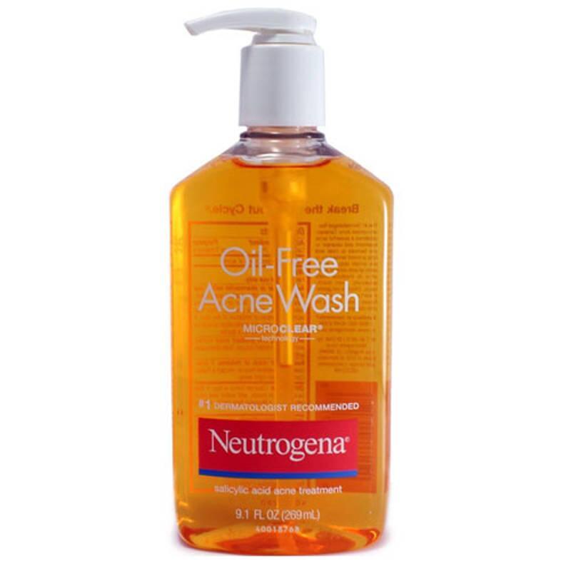 Sữa rửa mặt kiểm soát dầu nhờn & ngăn mụn Neutrogena Oil-Free Acne Wash