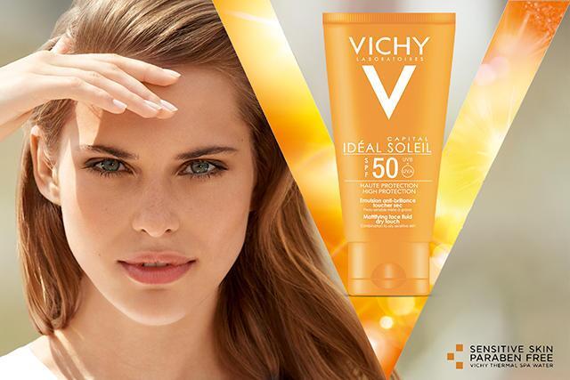 Kem chống nắng không gây nhờn rít Vichy Idéal Soleil SPF50