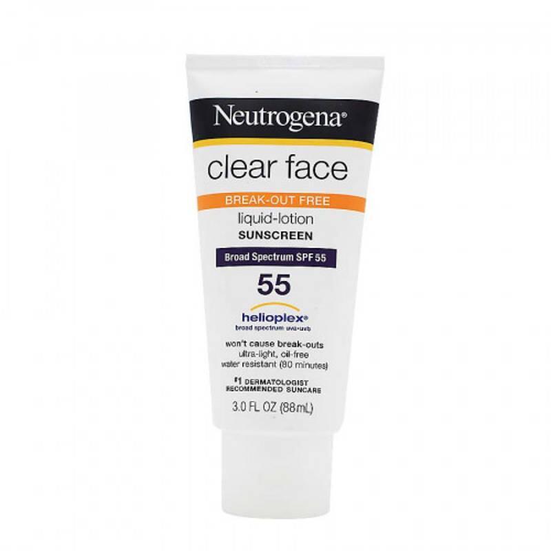 Kem chống nắng Neutrogena Clear Face Broad Spectrum SPF 55 88ml