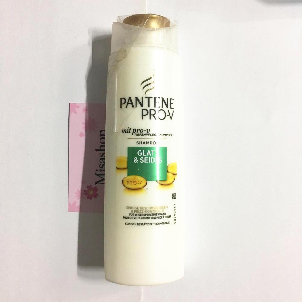 Bộ dầu gội và xả Pantene Pro-V Glatt & Seidig