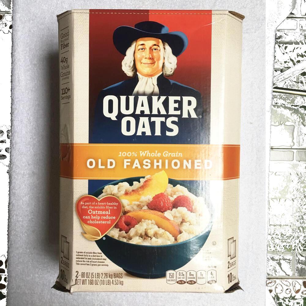 Yến mạch nguyên hạt - Quaker Oats Old Fashioned