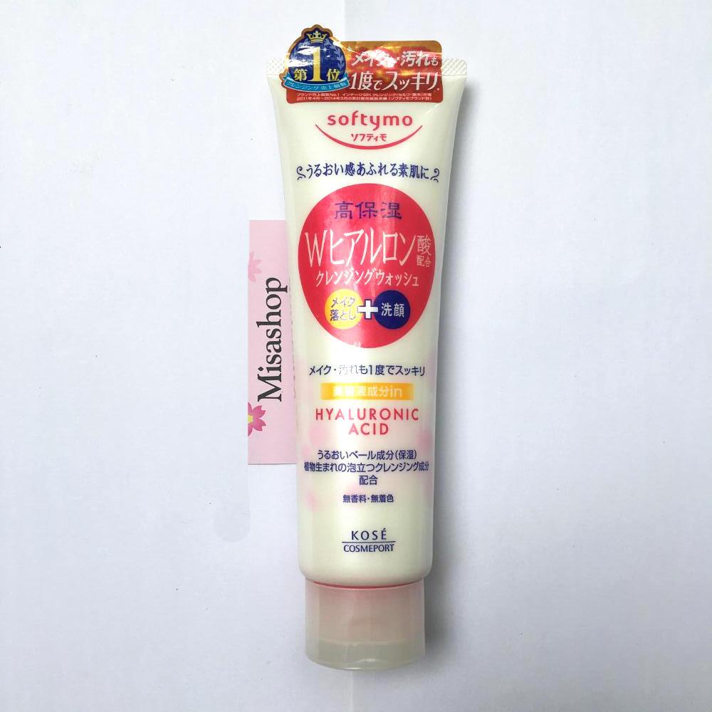 Sữa rửa mặt Kose Softymo White Cleansing Wash