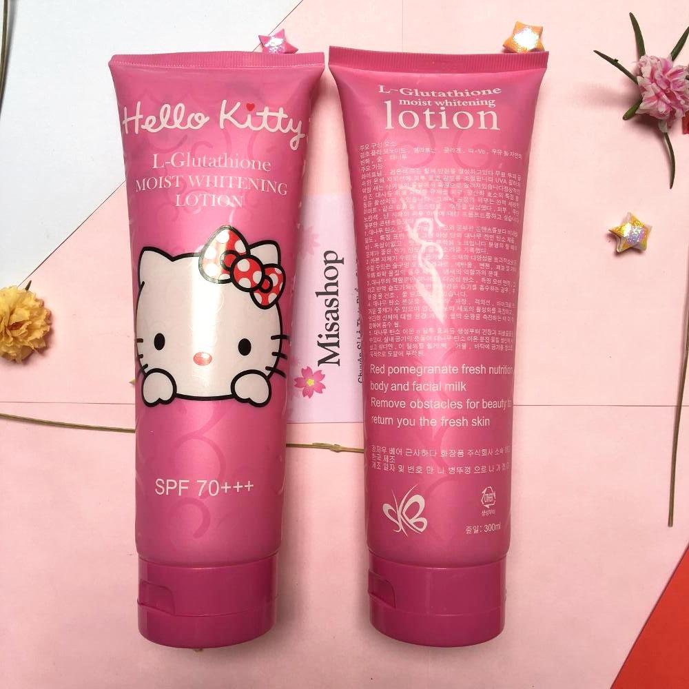 Kem dưỡng trắng da chống nắng Hello Kitty Spf 70+++
