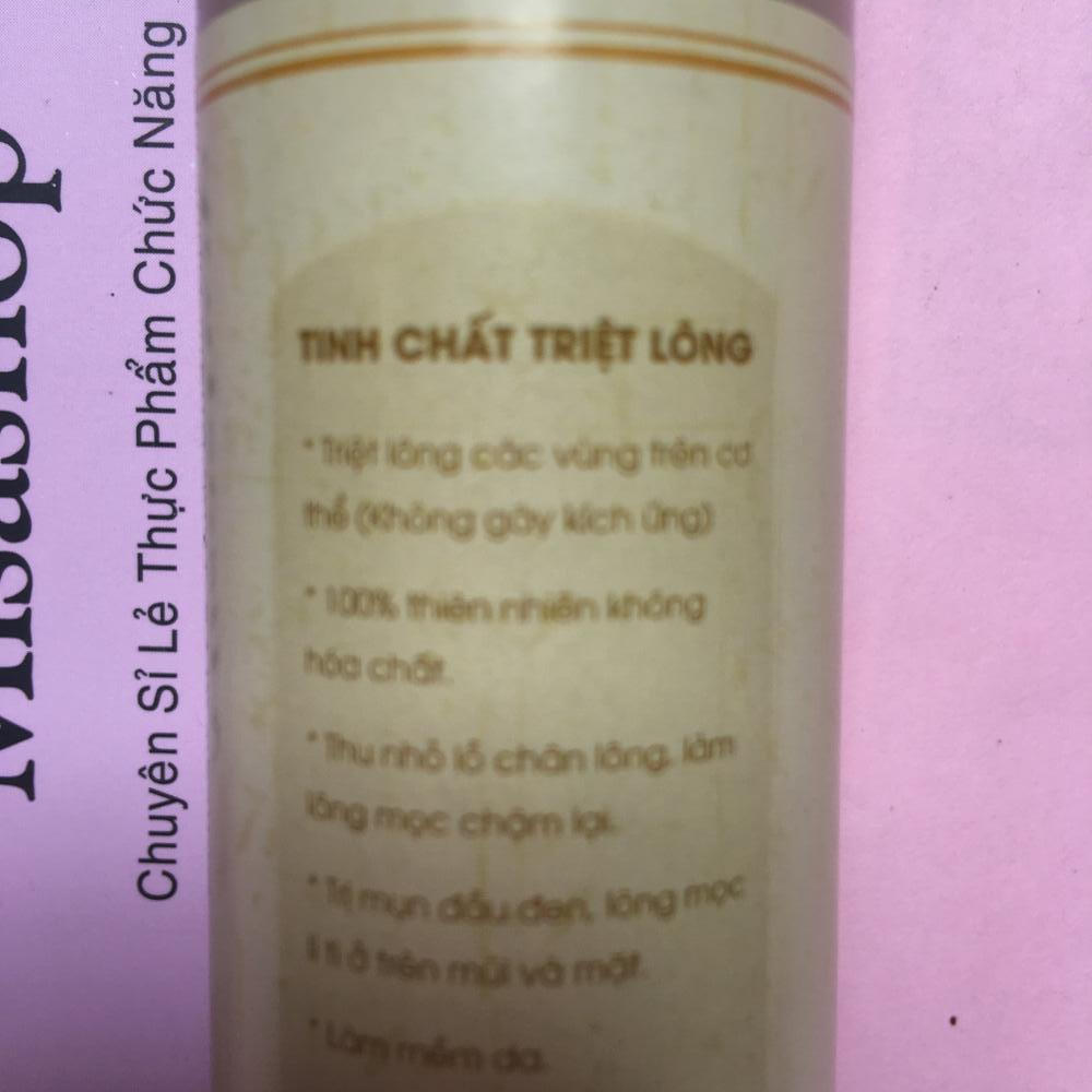 Tinh chất triệt lông vĩnh viễn Tina Lê 50ml