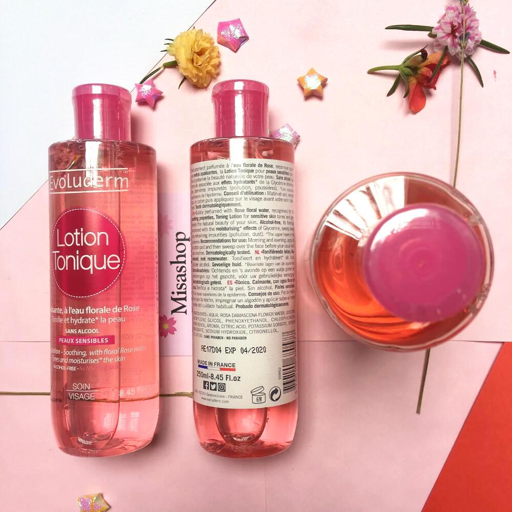 Nước hoa hồng giữ ẩm Evoluderm Lotion Tonique