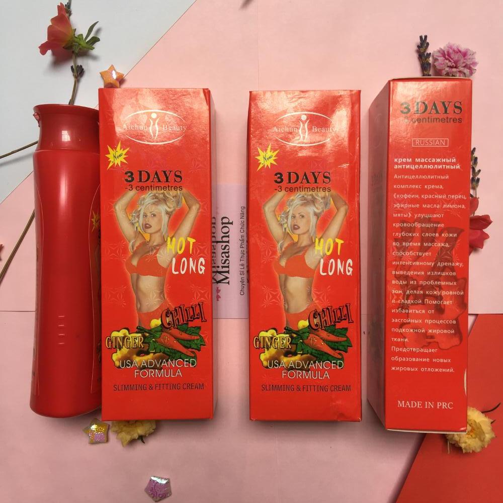 Kem tan mỡ bụng 3 Days – Aichun Beauty Thái Lan