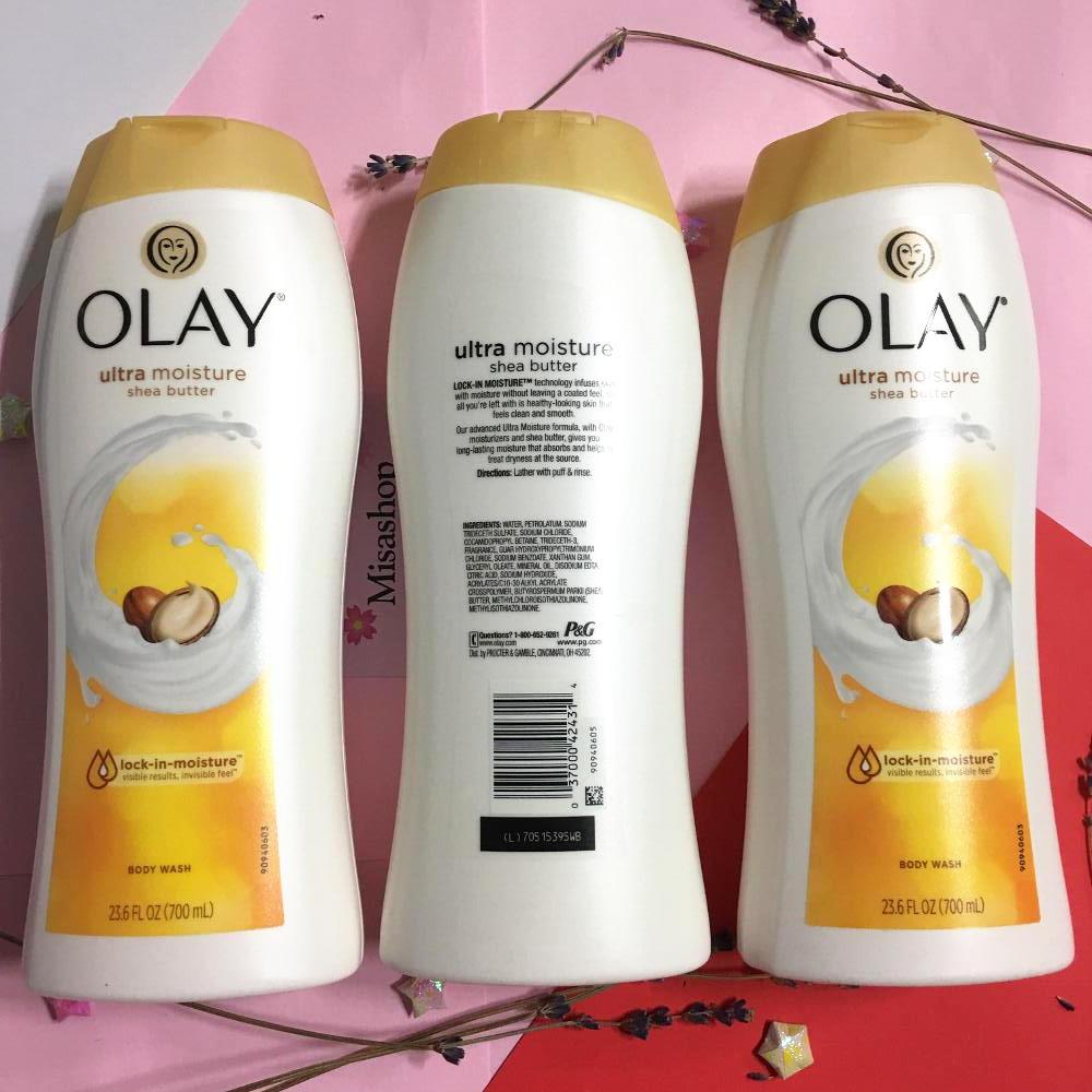 Sữa tắm dưỡng trắng da Olay Ultra Moisture Shea Butter