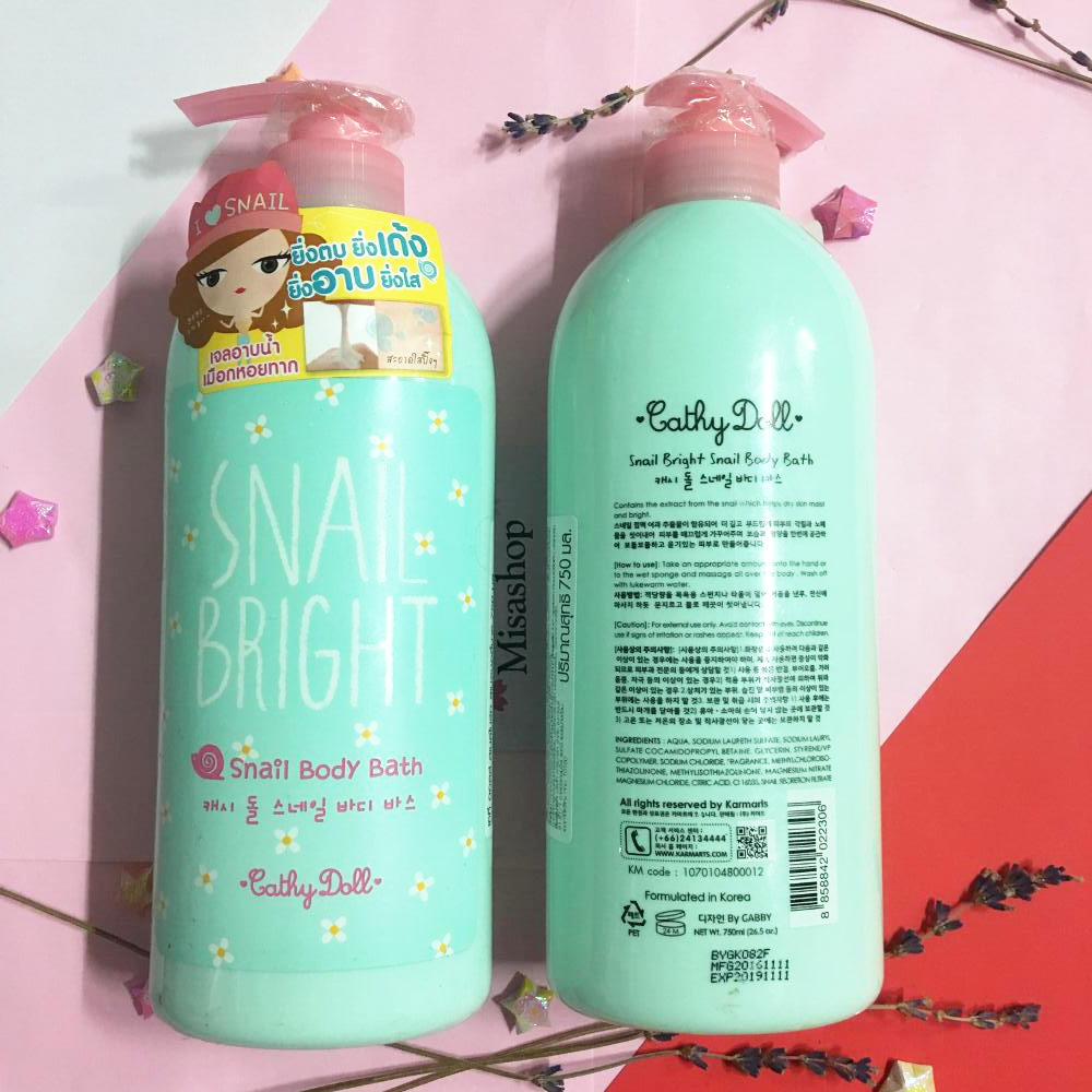 Sữa tắm cathy doll