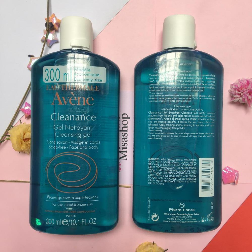 Sữa rửa mặt Eau Thermale Avène Cleanance Gel