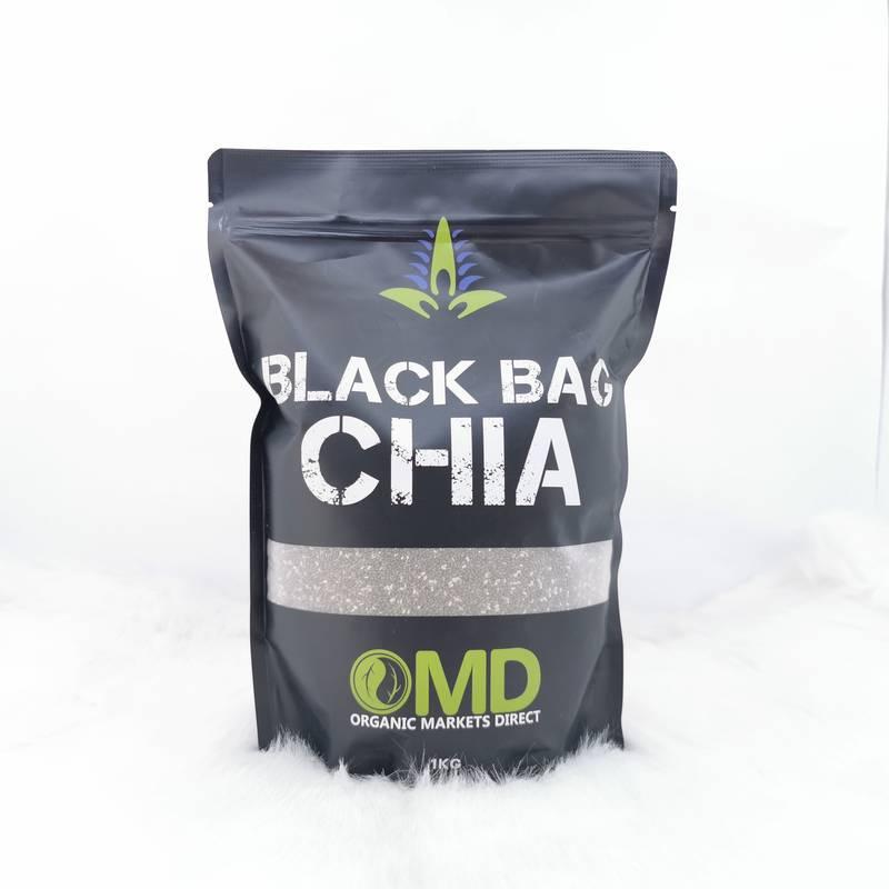 Hạt Chia Úc OMD Black Bag Chia 1kg - Chính Hãng Giá Tốt Nhất